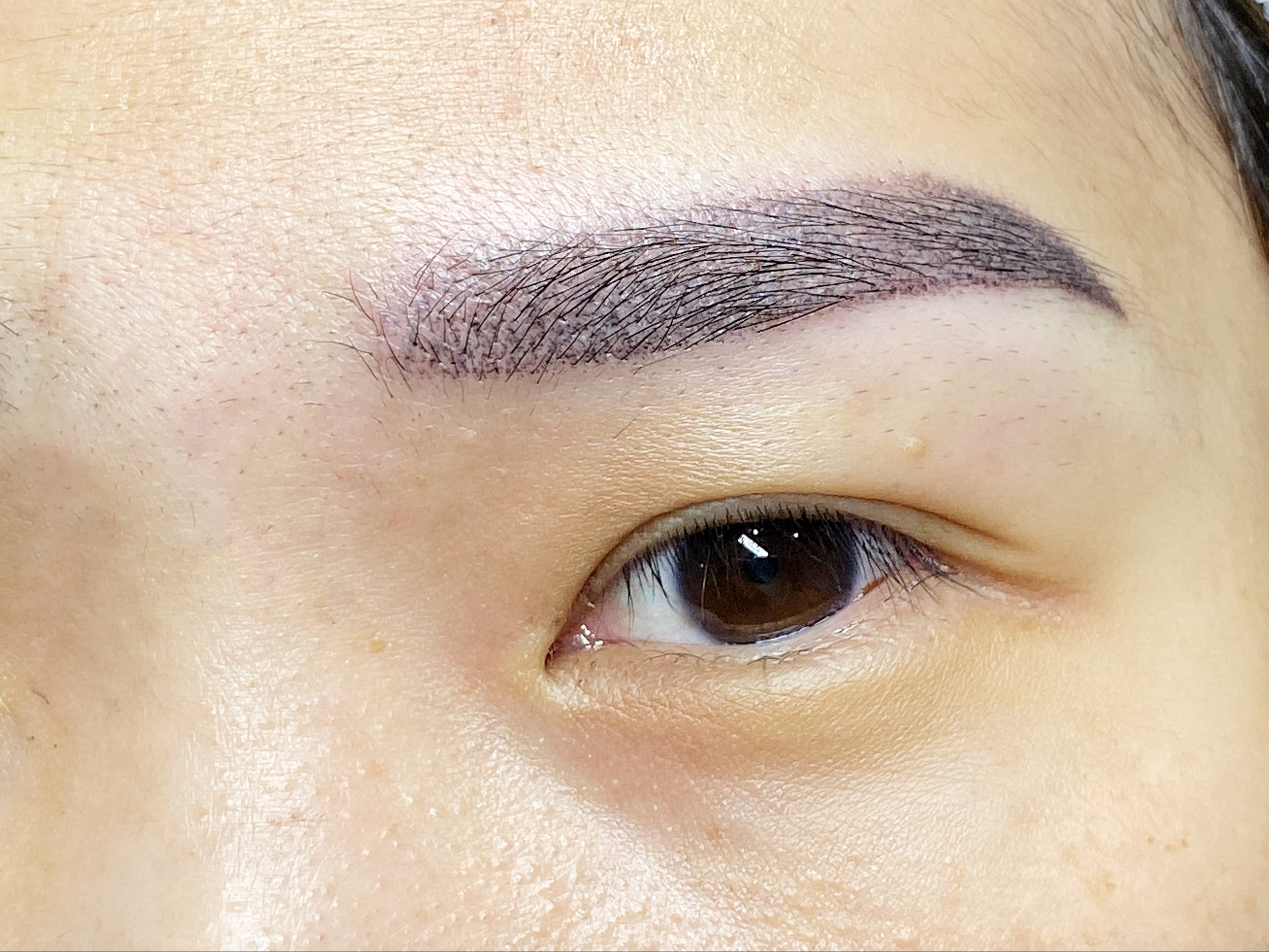blog ombre shading brow