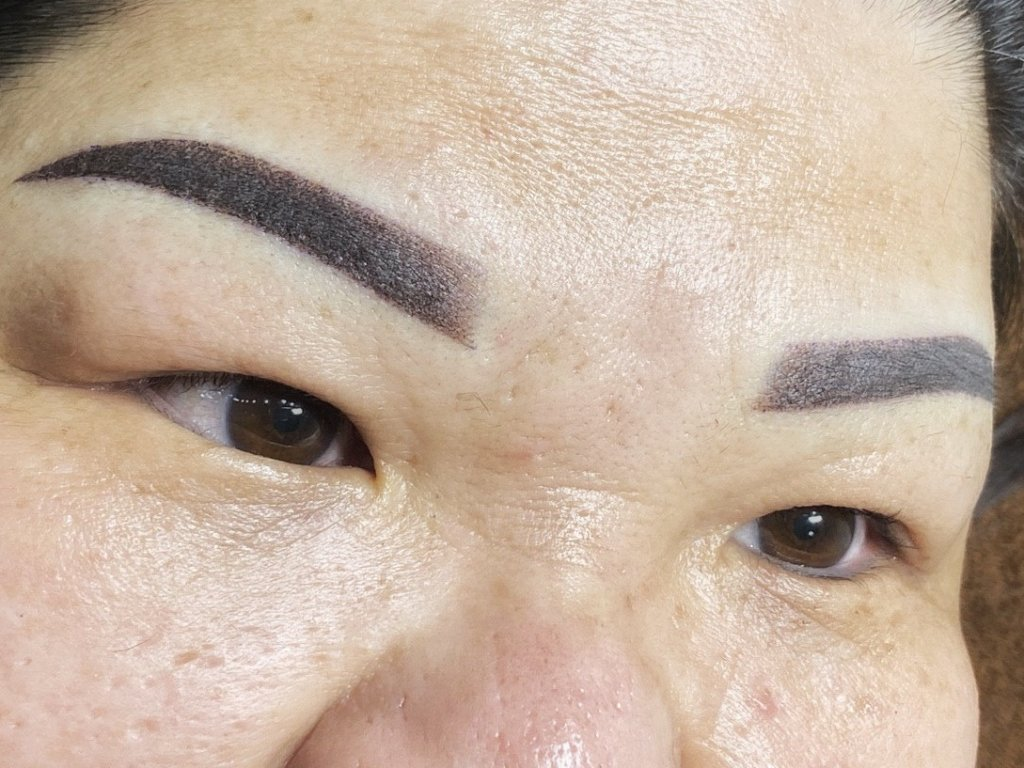 blog misty brow correction after
