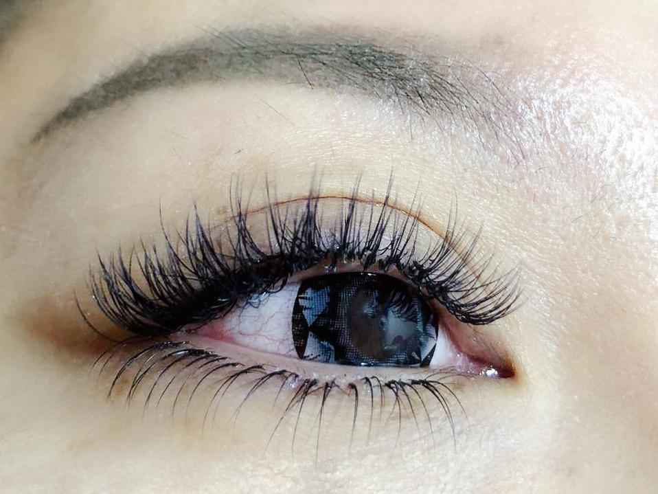 eyelash extension 4d-5d upper and lower sexy mix katun