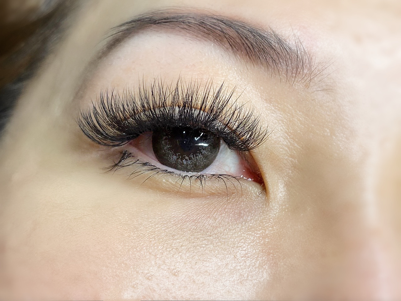 eyelash extension 4d-5d upper and lower sexy lash