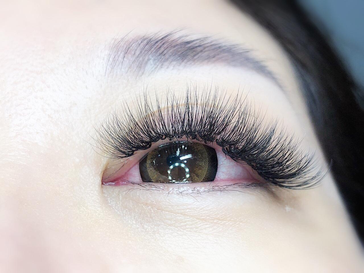 eyelash extension 9D luminous lash extension