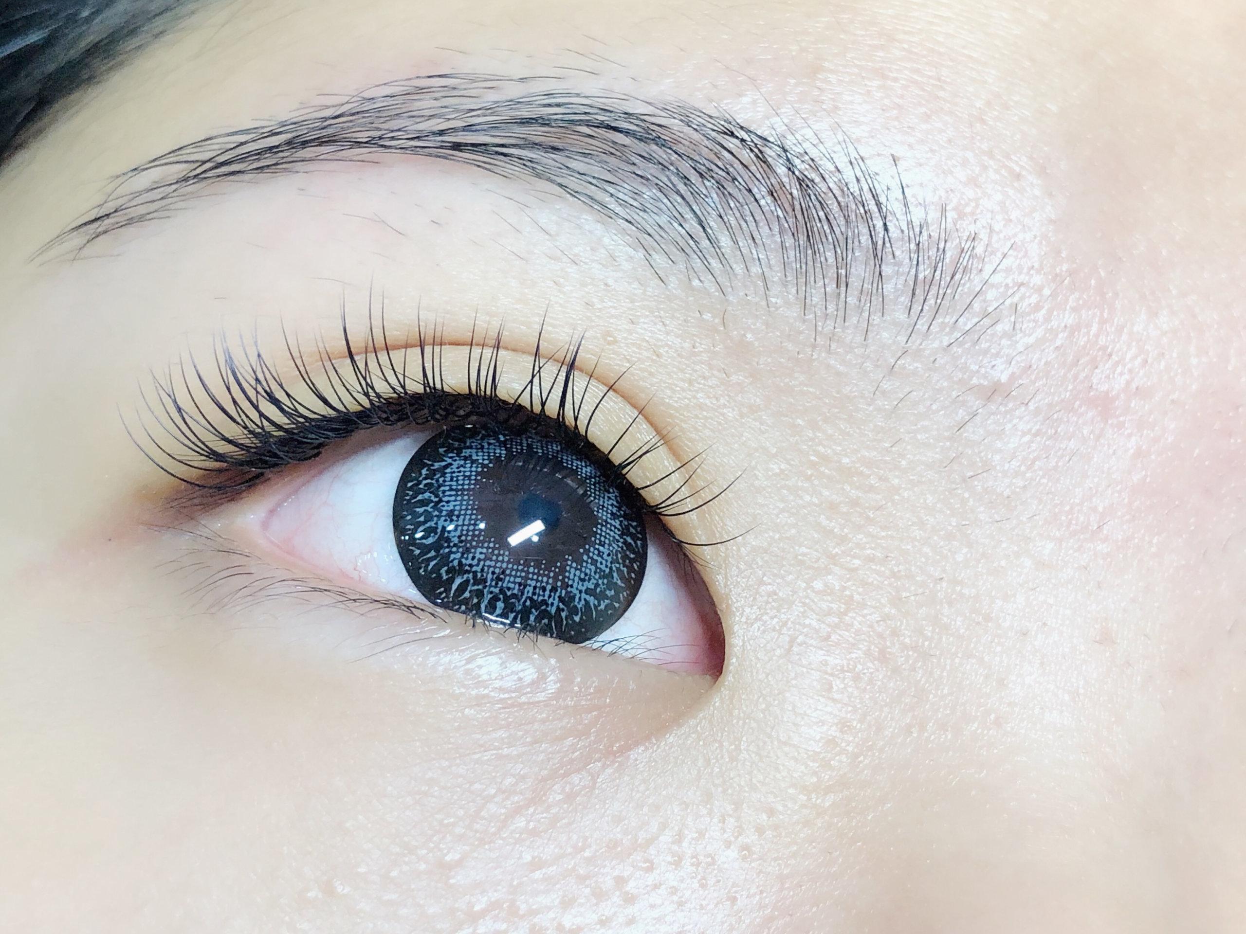 eyelash extension 1d natural