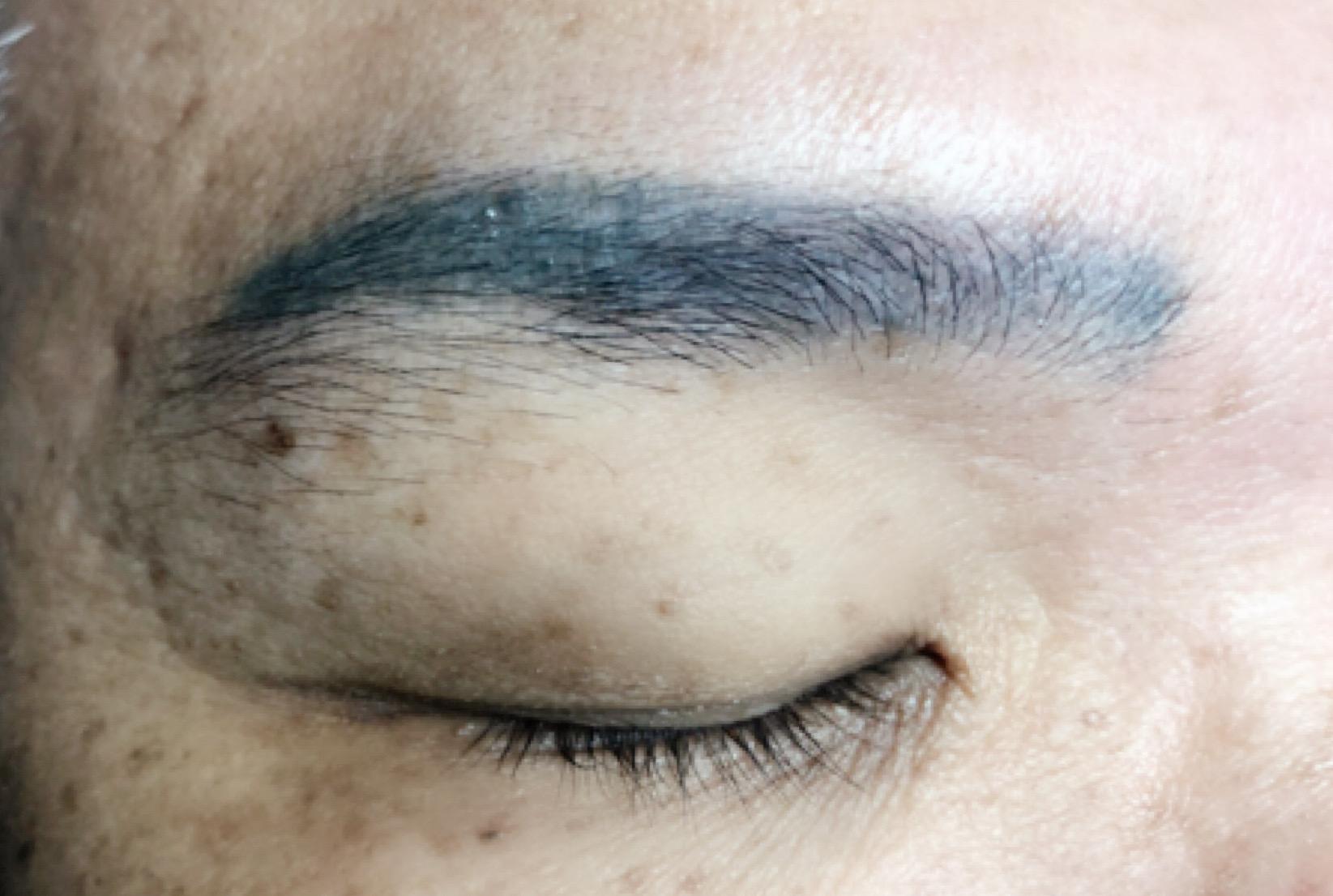 men eyebrow embroidery correction 1