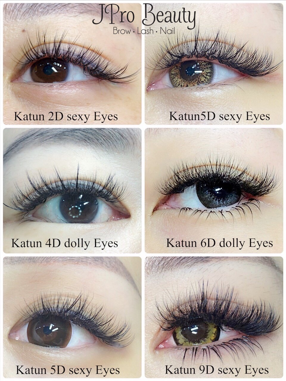 eyelash extensions what do i need to know_different katun