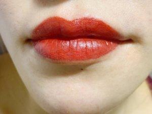 post lip blushing day 3