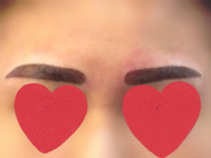 misty eyebrow embroidery gone wrong